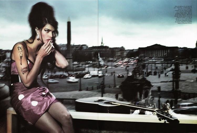 Editorial de moda Peter Lindberg estilo Amy Winehouse | Stylefeelfree