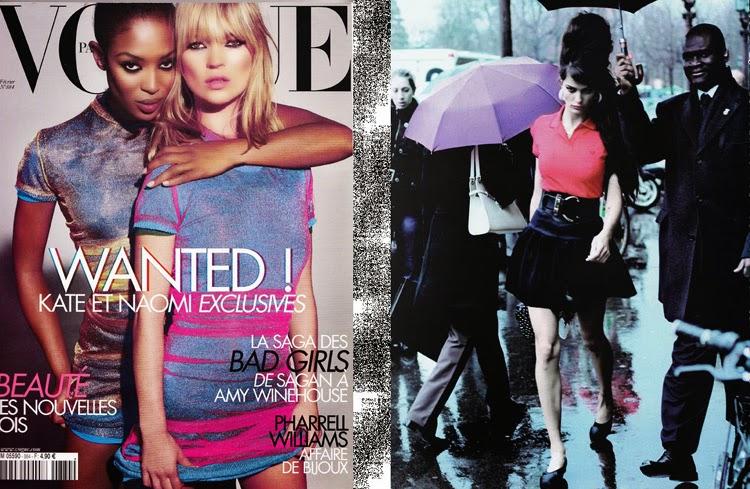 Editoriales de moda de Mario Testino y Peter Lindbergh  estilo Amy Winehouse | Stylefeelfree