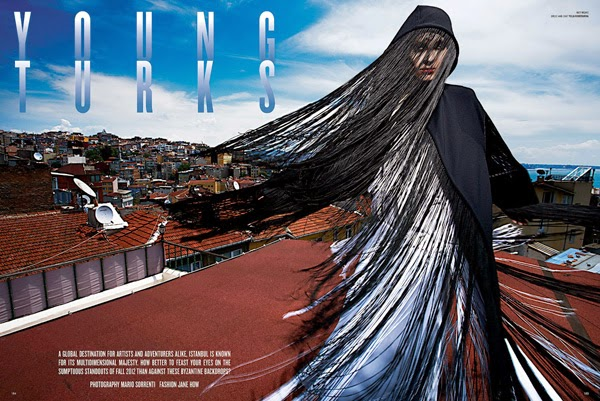 Fotografía de Mario Sorrenti | Editorial de Moda | Estambul | StyleFeelFree