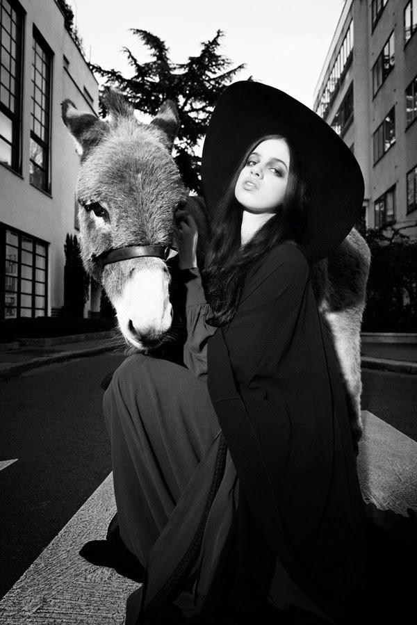 Fotografía de Olivier Zahm | Lily McMenamy | Purple magazine | StyleFeelFree