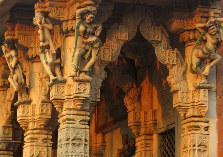 temple detail | India | StyleFeelFree
