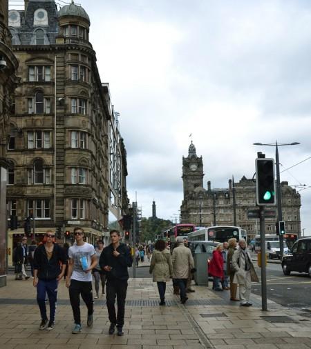 Edinburgh Princess street | Escocia | StyleFeelFree
