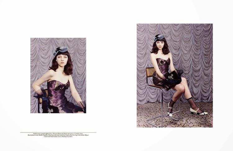 Fotografía de Venetia Scott para Self Service magazine f/w 2013 | StyleFeelFree