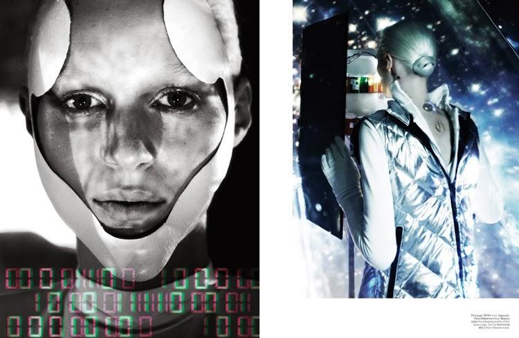 Julia Nobis | Fotografía de Moda para el W magazine | StyleFeelFree