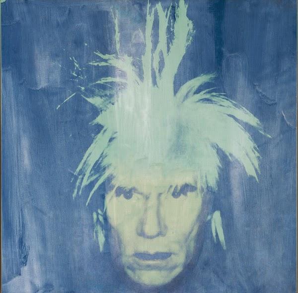 Andy Warhol, Autorretrato con luz negra | Museo Thyssen-Bornemisza – Madrid es Pop | stylefeelfree
