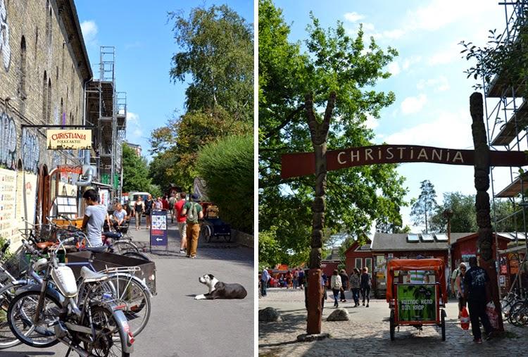 Barrio de Christiania en Copenhague | stylefeelfree
