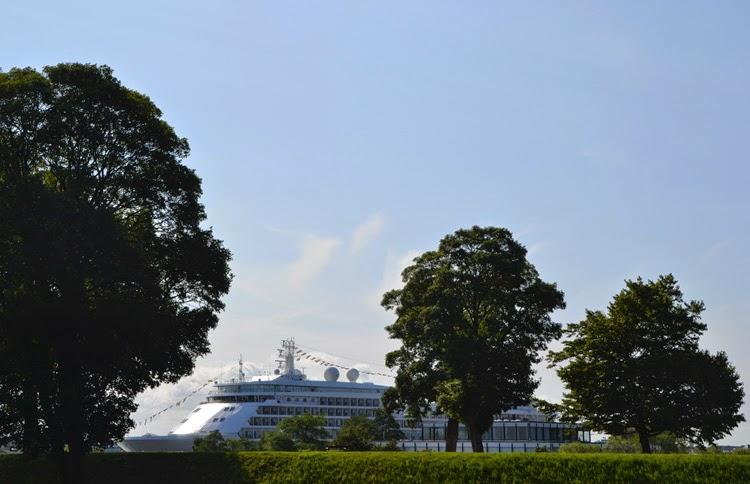 Crucero en Ved Norgesporten |  stylefeelfree