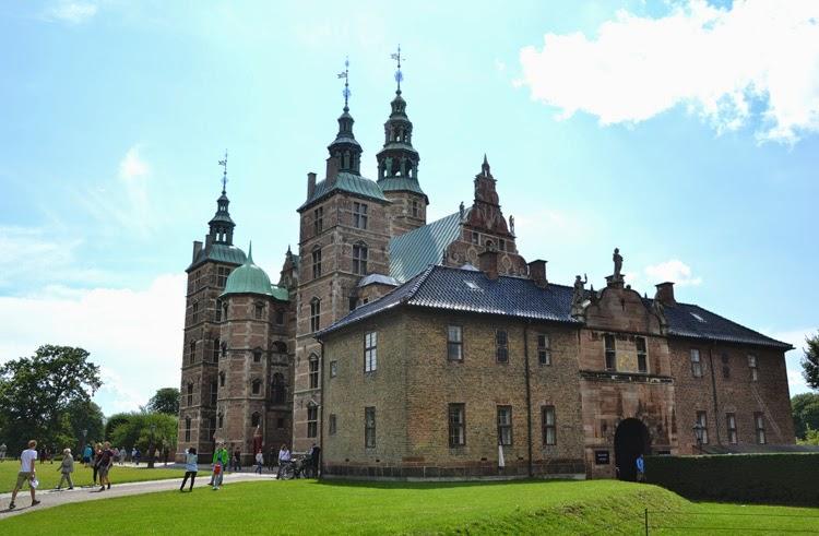 Palacio-castillo de Rosenborg Slot en Copenhague | stylefeelfree
