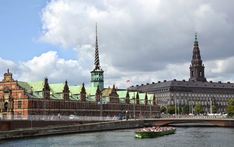Old Stock Exchange en Copenhague | stylefeelfree