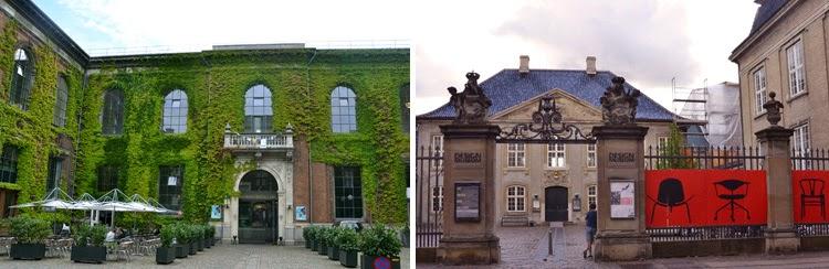 Kunsthal Charlottenburg a la izquierda y Museo de Diseño Danés a la derecha en Copenhague | stylefeelfree