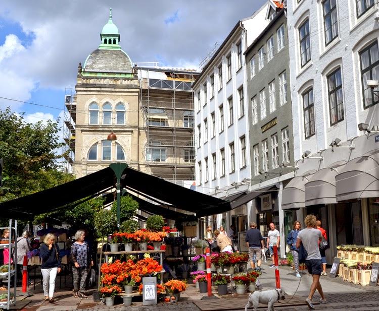 Mercado de flores en la City, Copenhague |  stylefeelfree