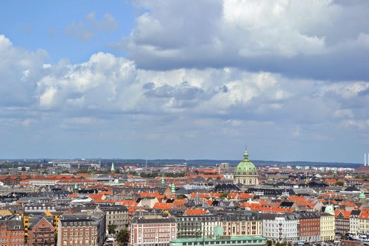 Vista panorámica desde Vor Frelsers Kirke | Copenhagen | stylefeelfree