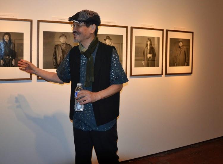 Hiroh Kikai durante la presentación de su exposición en Madrid | stylefeelfree