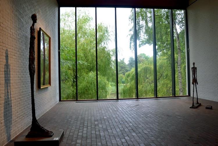 Esculturas de Giacometti   Museo de arte moderno de  Copenhague   stylefeelfree