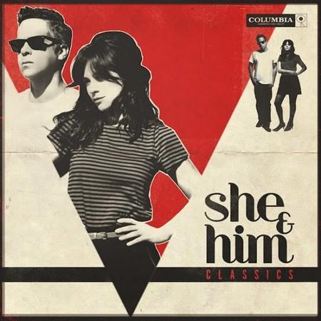 """Disco Classics de She & Him que se publica el 2 de Diciembre y tema """"Stay Awhile""""   stylefeelfree"""