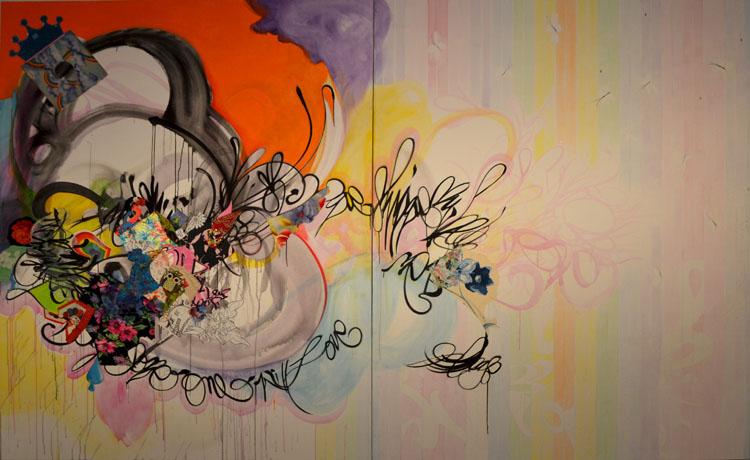 Obra de Shinique Smith de la Colección Barrié
